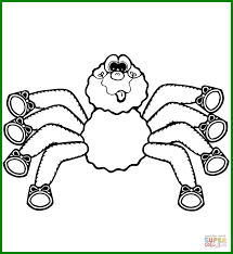 minecraft spider coloring pages