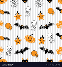Halloween Pattern Enchanting Halloween Wallpaper Pattern Royalty Free Vector Image