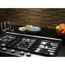 kitchenaide downdraft inch retractable downdraft system in stainless steel kxd46yss kitchenaid kecd867xbl 36 electric downdraft cooktop