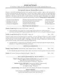 Download Examples Of Teacher Resumes Haadyaooverbayresort Com