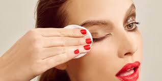 how to take your makeup off using almond oil