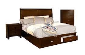 modern platform bedroom sets. Furniture Of America Varielle Modern 3-Piece Storage Platform Bedroom Set  With Nightstand And Chest Modern Platform Bedroom Sets U