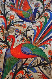 Amate Paper Designs Amate Painting Hispanic Art Art Bird Art