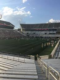 Bobby Dodd Stadium Section 132 Home Of Georgia Tech Yellow