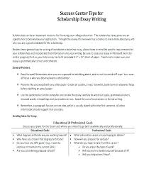 Type A Essay Example Essays For Scholarships Write Essay Scholarship Application