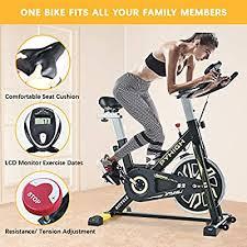 PYHIGH Indoor Cycling Bike Stationary Exercise Bike ... - Amazon.com