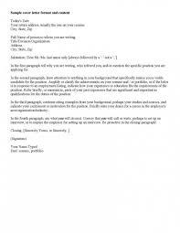 Astounding Download Cover Letter Format Sample For Job Application