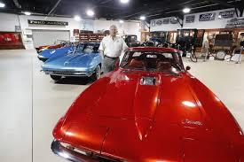 buffalo transportation pierce arrow museum weles donation of four special corvettes
