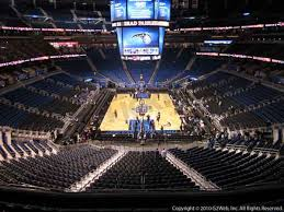 Amway Arena Seating Chart With Rows Amway Center Seat Views Section By Section
