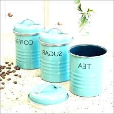 kitchen canister sets teal set blue medium size of canisters cobalt brushed stainless steel glass kitche