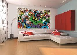 Marvel Bedroom Wallpaper Marvel Mural Marvel Home Decor Wallpaper Wallmural 1wall