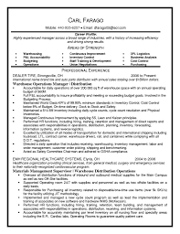 Sample Resume Of Assistant Operations Manager Fresh Operations