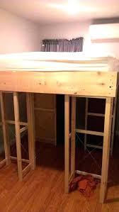 closet bed ikea lofted closet behind