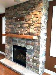 refacing a brick fireplace with stone veneer resurface brick fireplace with stone veneer wonderful living room