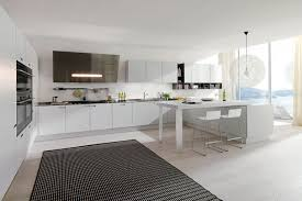 black and white kitchen rug
