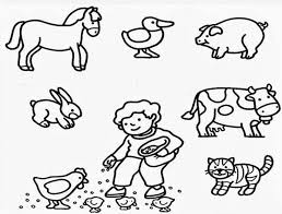Small Picture Farm Animal Coloring Pages Pictures 191 Bestofcoloringcom
