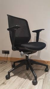 orangebox joy 12 black mesh swivel office chair high back ergonomic delivery possible in