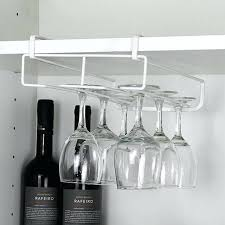 bed bath and beyond under cabinet glass rack sliding wine glass onto homemade rack rh exmedia me