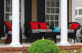 front porch furniture ideas. porch decorated with colorful cushions front furniture ideas c