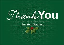 Thank You Letter To Customer Sample Of Christmas Letter Of Thanks To Business Clients
