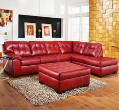 luxury red sectional sofa for your living room inspiration with leather sleeper recliners san go queen futon bedroom sets atlanta wicker pull out couch