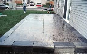 concrete slab patio. Decoration In Concrete Slab Patio Ideas Stamped Designs E