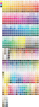 Rgb To Pms Color Conversion Chart Pms Color Chart Effy Moom