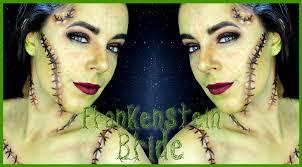 frankenstein bride fx makeup tutorial silvia quiros