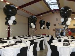 White Tie With Decorations Black And White Theme Prom Prom Decorations Pinterest Black