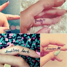 тату надпись для девушек надпись на пальце женская тату тату