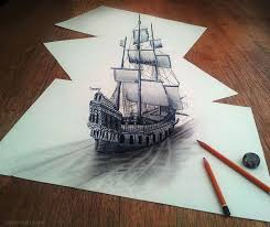 drawings 3d pencil drawings