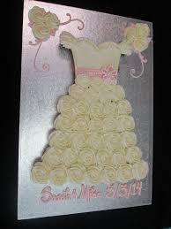 Tutorial to make Wedding Princess Dress Cupcake Pull Apart Cake