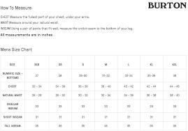 Burton Snowboard Boots Size Chart Snowboard Boots Snowboard Size Chart Size Burton Boots