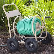 garden hose caddy ideas
