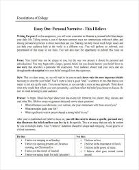 Writing Narrative Personal Essays Narrative Essay Outline Writing Help