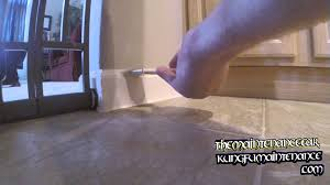 how to hide buckled swollen swelled area on floorboard baseboard kung fu maintenance