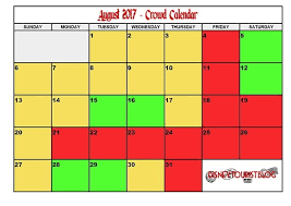 August Disneyland Crowd Calendar Disney Tourist Blog