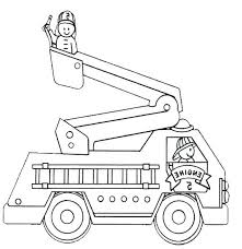 Free Trucks And Construction Vehicle Coloring Pages Color In This