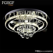 hot ing res contemporary led chandeliers crystal lamp of living room lights chrome chandelier lighting round circle for living rroom rustic