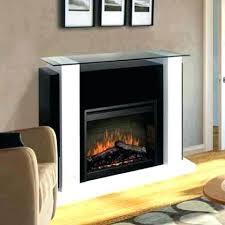 dimplex optimyst electric fireplace electric fireplace cassette insert w logs ii log set dimplex optimyst electric