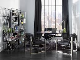 contemporary home office furniture sets. home office:neat office decor with solid black cabinet also glass top desk and contemporary furniture sets n