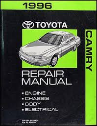 1996 toyota camry wiring diagram manual original 1996 toyota camry repair shop manual original 149 00