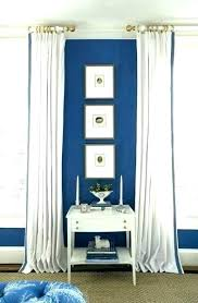 Blue Curtains For Bedroom White Curtains With Navy Trim Navy Blue ...