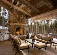 Next Living Room Accessories Superb Paver Patios In Patio Rustic With Rustic Fireplace Next To