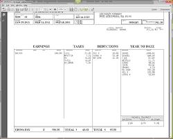 Sample Check Stub Adp Pay Check Stub Payroll Sample Paycheck Pdf Stubs Template Login