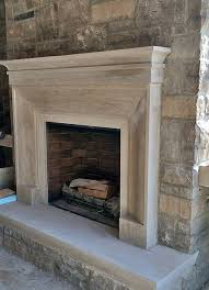 custom indiana limestone fireplace surround