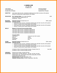 8 How To Write A Good Resume For Job New Hope Stream Wood