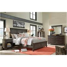 I07 412 pep Aspen Home Furniture Oxford Bedroom Queen Panel Bed