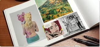 modern art collage