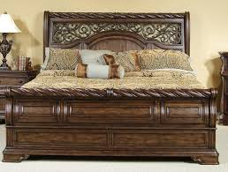 king size sleigh bed. Plain King Carved King Size Sleigh Bed In